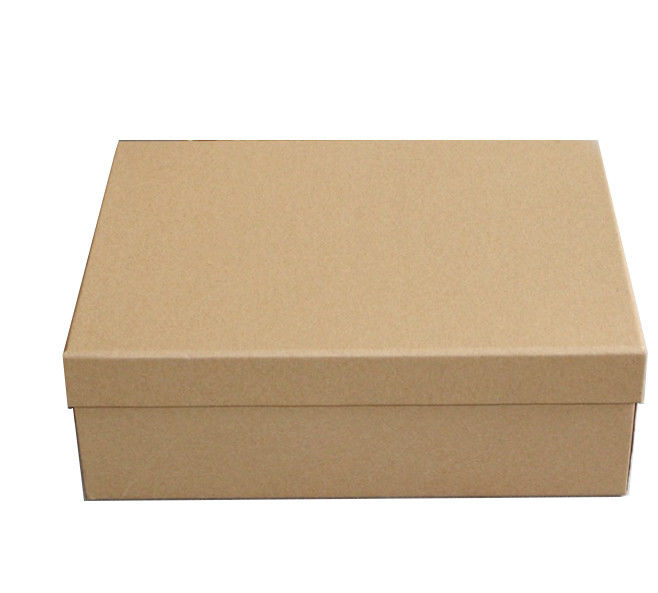Original Brown Color Paper Display Box Custom Clothing Packaging Boxes For Shoes