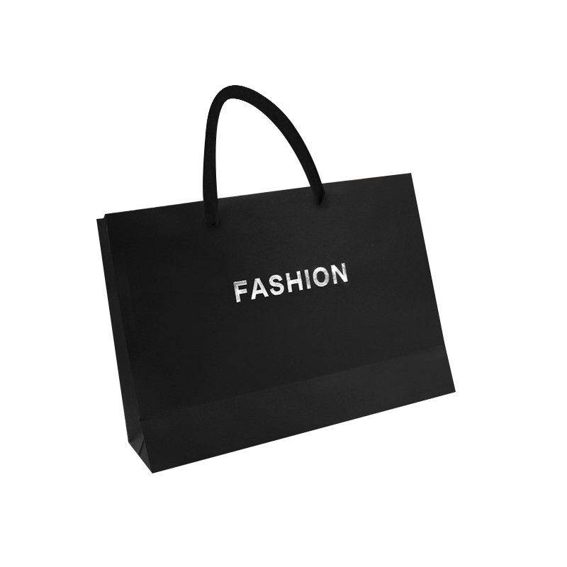 Biodegradable Paper Merchandise Bags , Custom Gift Bags For Business