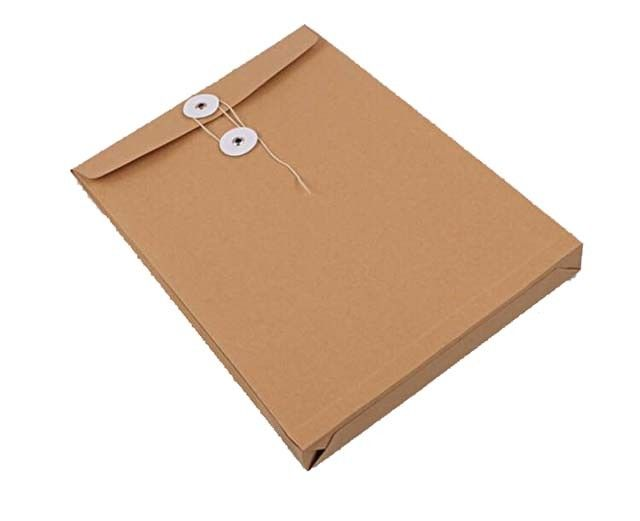 Portable Paper File Bag , Degradable Office Document A4 Paper File Bag