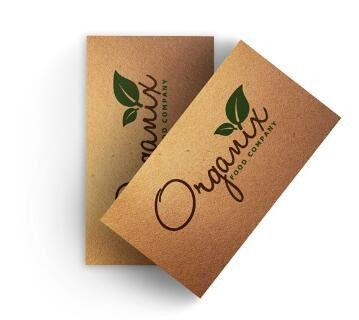 Offset Printing Photography Business Cards Perforated Cardstock For Business Cards