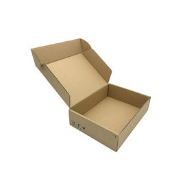 Corrugated Plane Cardboard Luggage Box For Small Parts / Accessories Packing