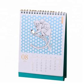 China Photo Frame Custom Photo Perpetual Calendar With Full Color Printing factory