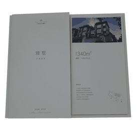 Vertical Custom Photo Story Book With Film / Bronzing / Bump Process