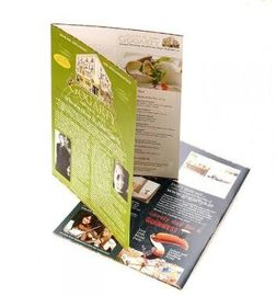Full Color Double Sided Flyer , Digital Printing Brochure For Poster