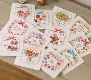 China Holiday Decoration Paper Greeting Cards , Valentine Halloween Greeting Cards factory
