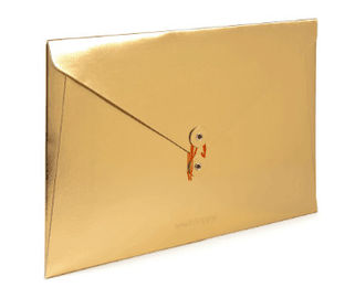 China Custom Size Printed Paper Envelopes , Fire Resistant Standard Mailing Envelope factory